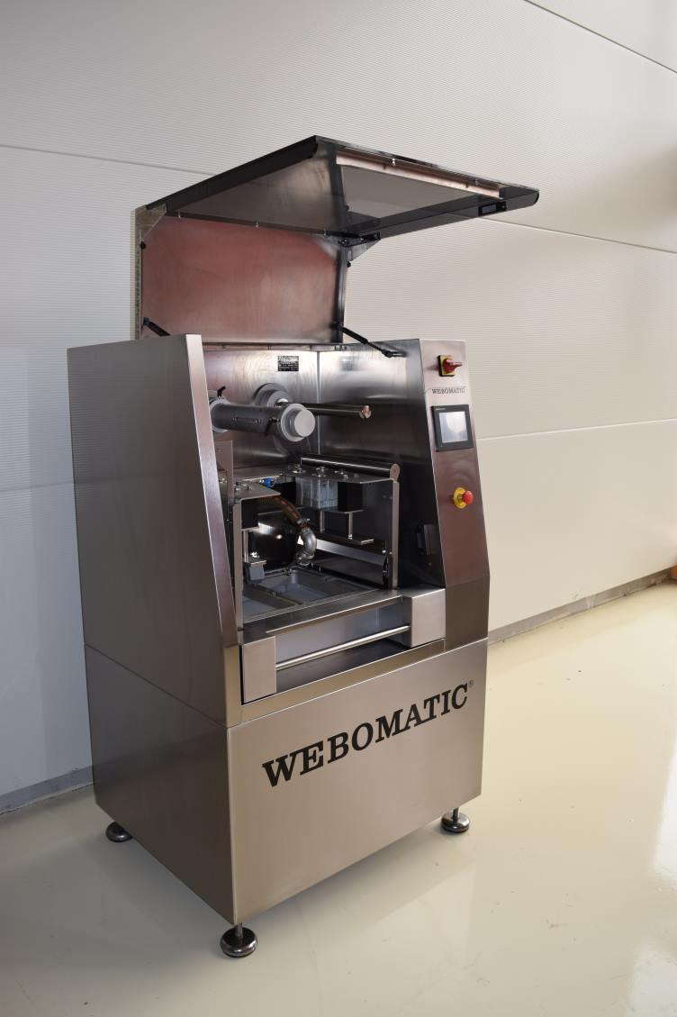 Operculeuse semi-automatique webomatique TL300