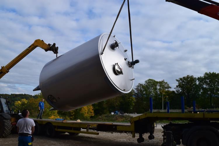 Sobrapi - Installation de tank