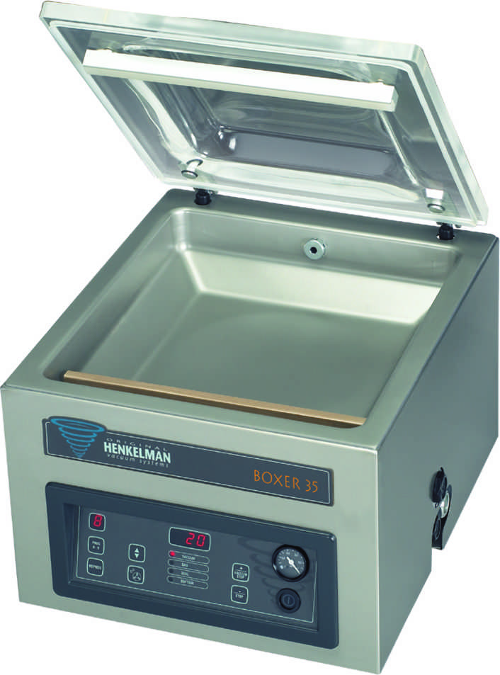MACHINE SOUS-VIDE DE TABLE boxer-35